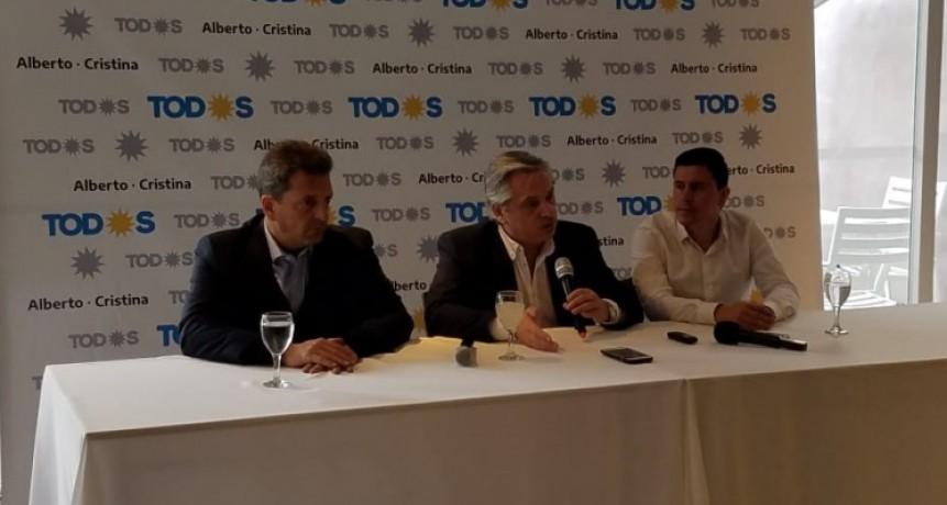 Fernández se refirió a obras, 'plata en el bolsillo', corrida cambiaria y apoyo de las intendencias