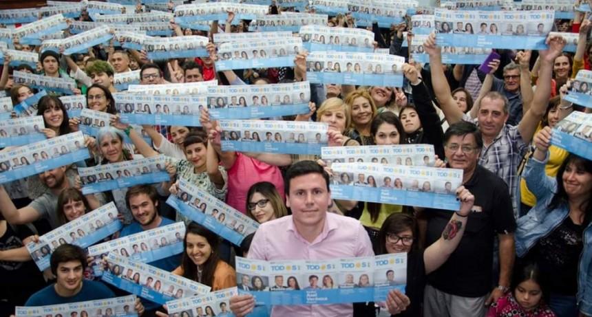 """Aguilera: """"este domingo cuidamos los votos del Frente de Todos y la esperanza de los olavarrienses"""""""