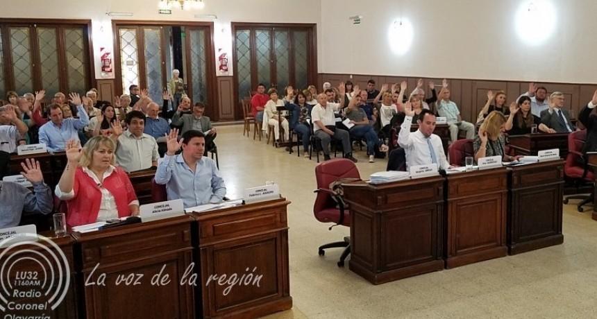 En Olavarría, Concejales y Consejeros  Escolares que terminan mandato