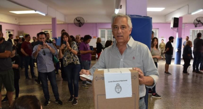 Eseverri: 'ojalá sea un día importante para la Argentina, la provincia y Olavarría'