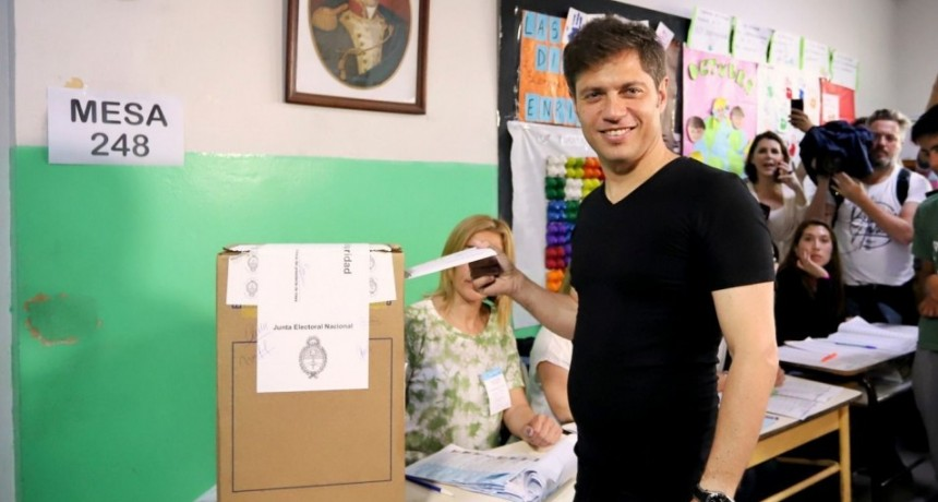 Kicillof gana en la Provincia y será el nuevo gobernador