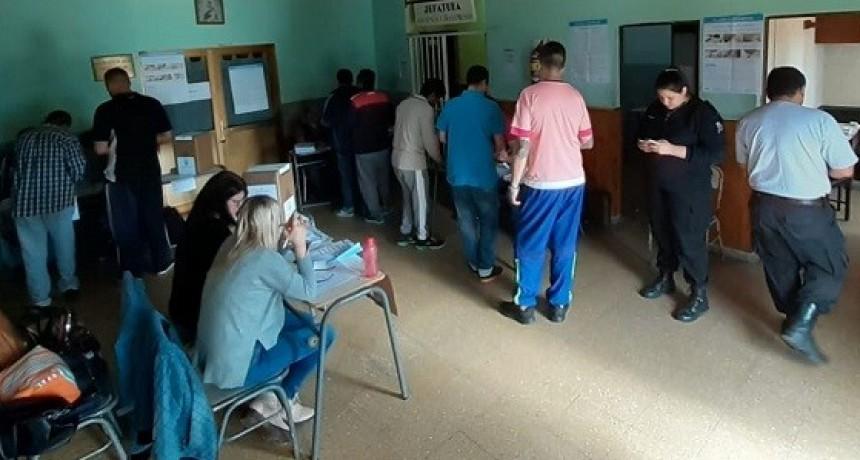 Votaron más de 800 internos en el Complejo Centro Zona Sur