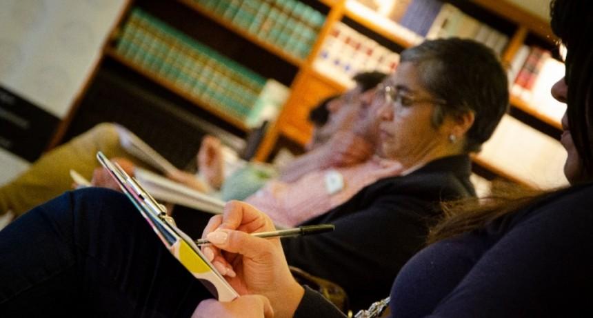 Continúan las capacitaciones para abogadas y abogados sobre distintas especialidades del derecho