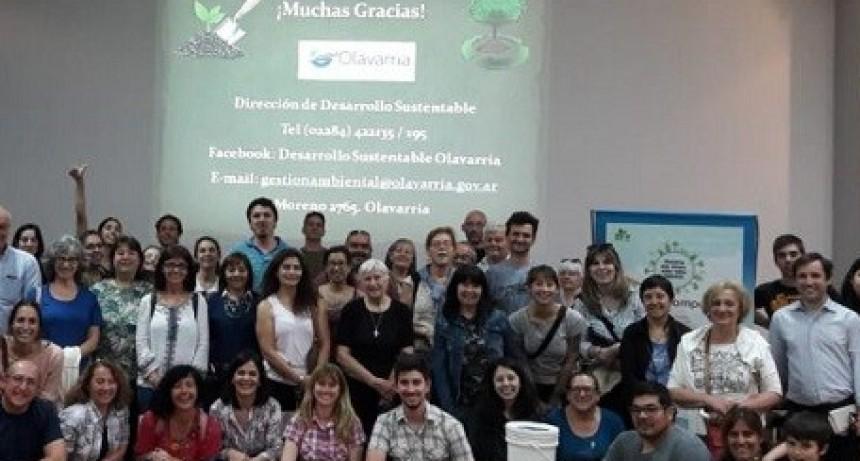 Más de 70 personas participaron del taller de Compostaje