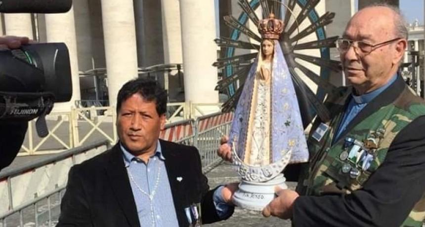El Reino Unido devuelve una imagen de la Virgen de Luján que estuvo en Malvinas