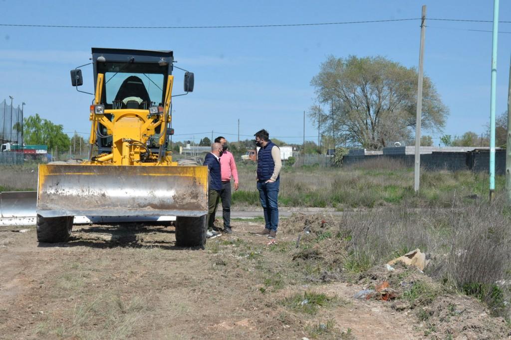 Obras Públicas: el Intendente recorrió obras de mantenimiento