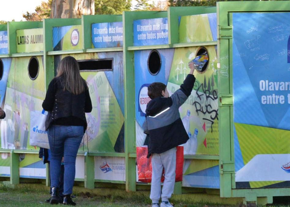 Sierra Chica: el EcoPunto estará en la localidad durante octubre