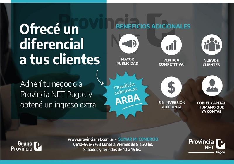 Provincia Net Pagos ofrece mayor rentabilidad a comercios que incorporen su servicio