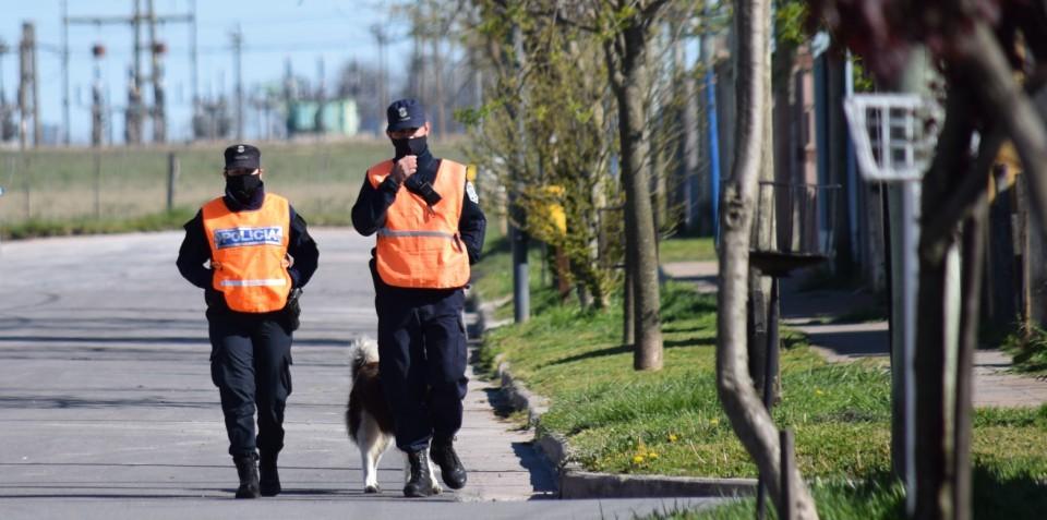 Laprida: Seguridad realiza acciones de prevención y cercania en los barrios