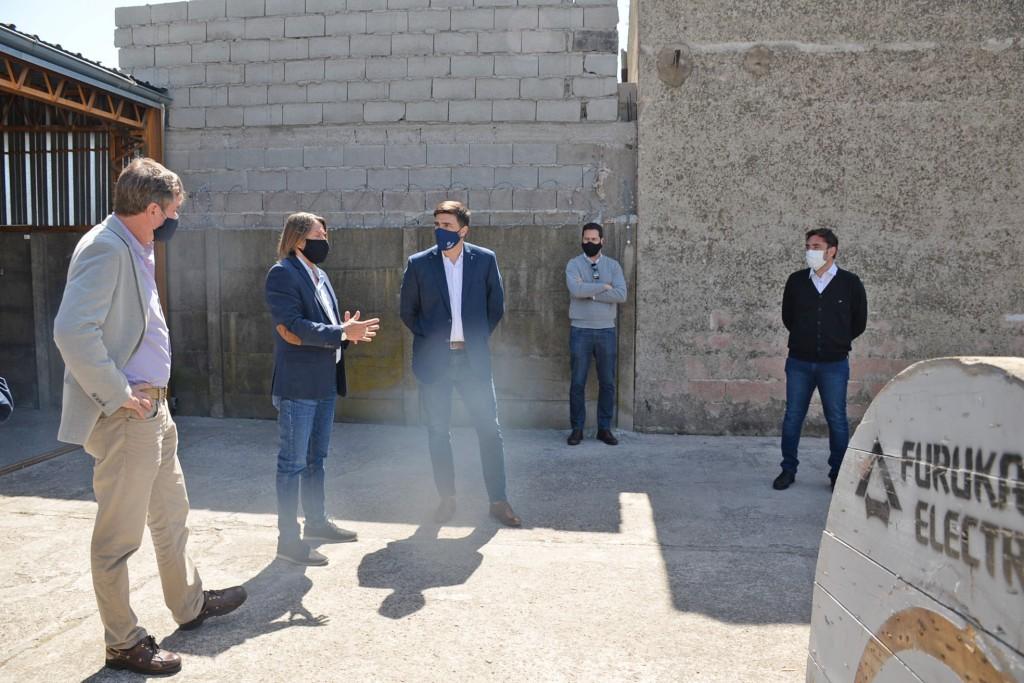 """""""Esta es una obra clave para lograr mayor conectividad en Olavarría"""""""