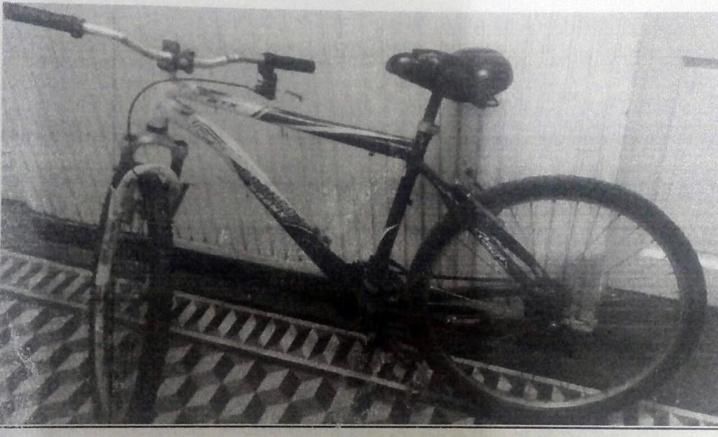 La policía busca al propietario de una bicicleta