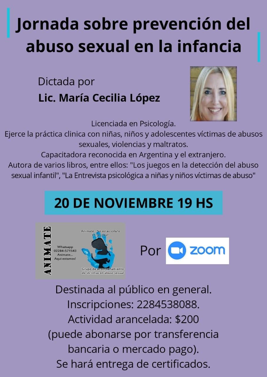 Jornada sobre 'Prevención del abuso sexual en la infancia'
