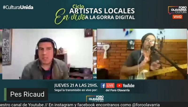Finaliza la tercera temporada del ciclo 'Artistas locales a la gorra digital'
