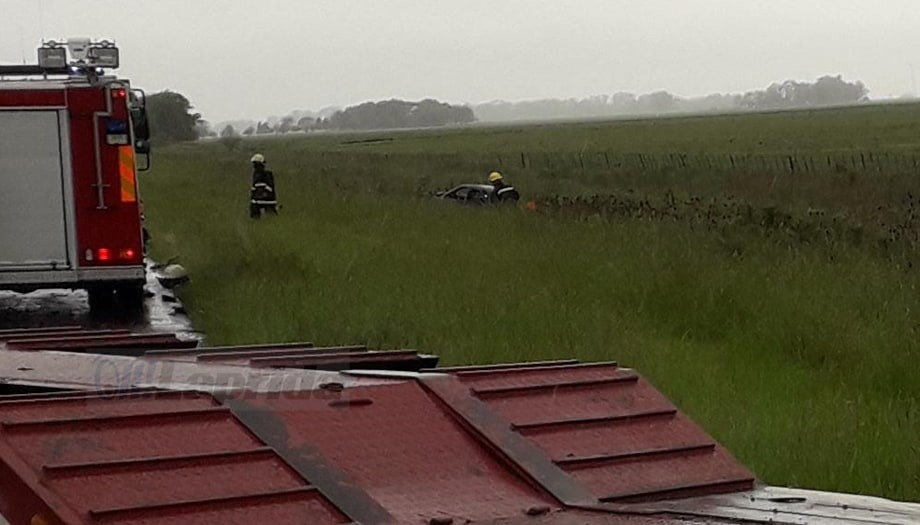 Un lapridense murió en un choque sobre Ruta 51