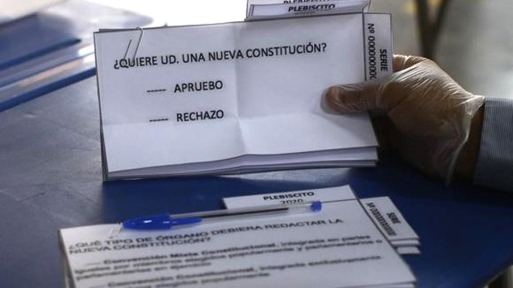 Más del 78% de los votantes chilenos quieren un cambio de la Constitución de Pinochet