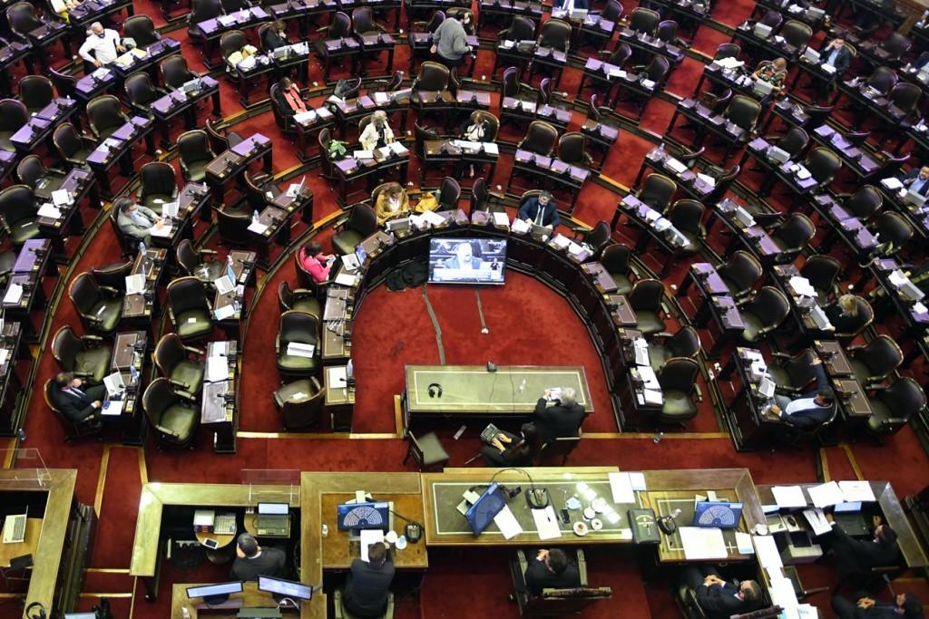 Media sanción para el Presupuesto 2021 en Diputados