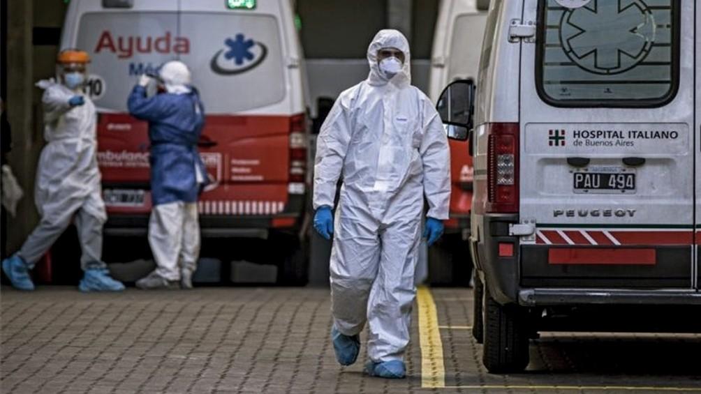 Otras 372 personas murieron y 13.267 fueron diagnosticadas con coronavirus en el país