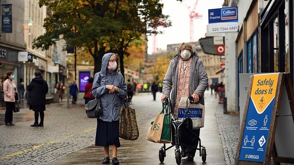 El coronavirus arrasa Europa: 1,5 millón de nuevos infectados en la última semana