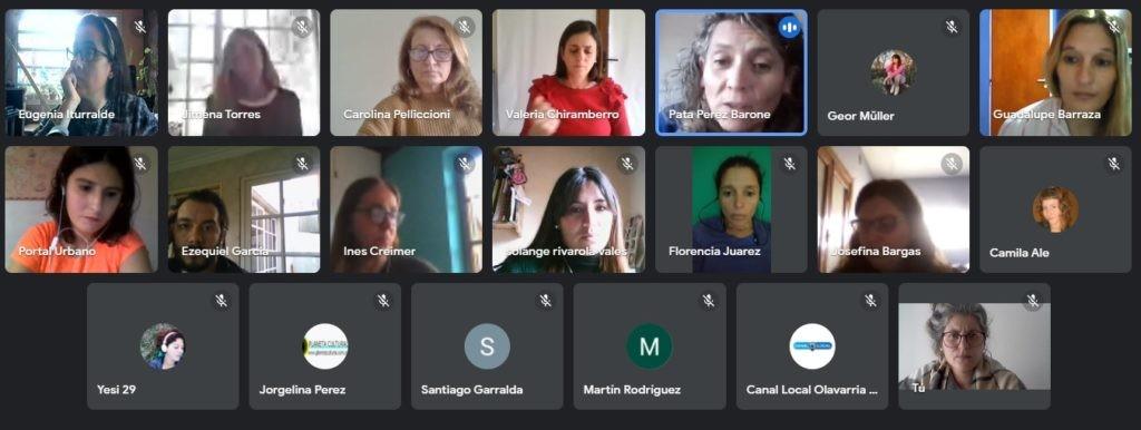 Acta Acuerdo: Nuevo encuentro con periodistas locales