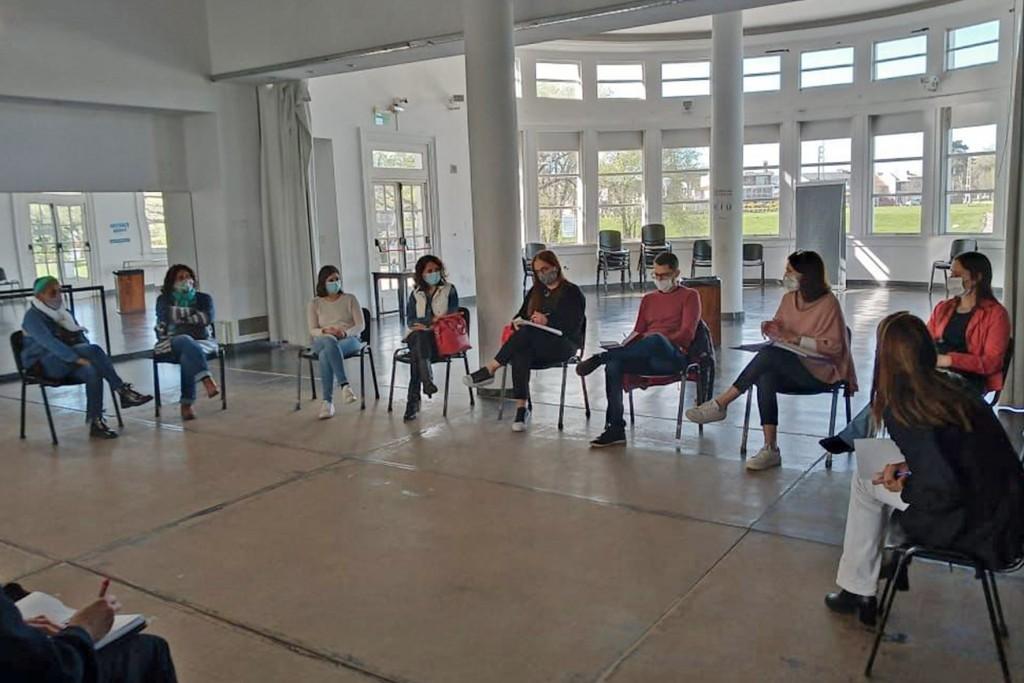 La Mesa Local contra la Violencia familiar y de género retomó la presencialidad