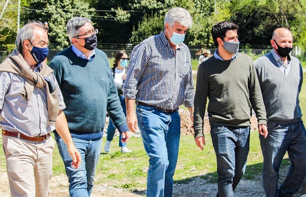 El Ministro de Desarrollo Agrario de la Provincia visitó Tapalqué