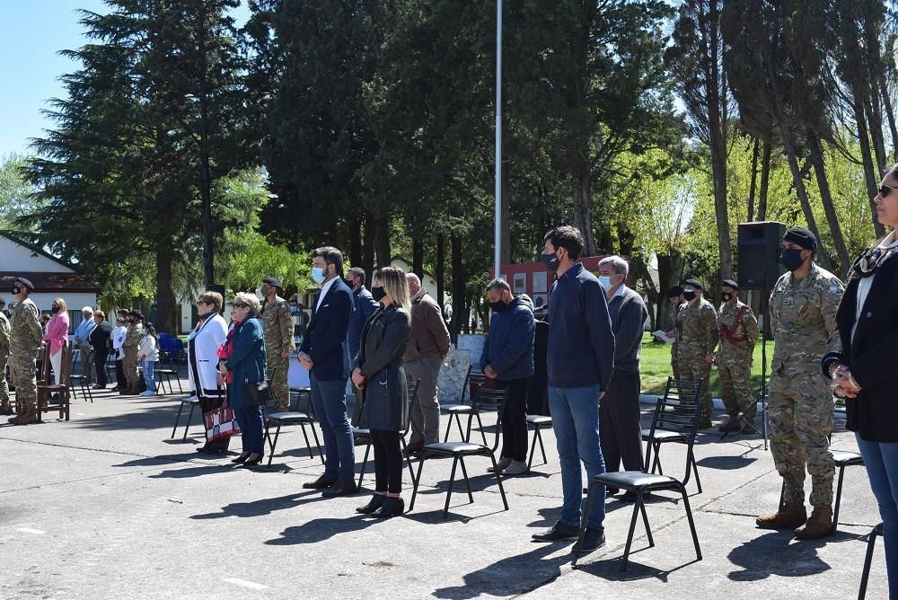 Se celebró un nuevo aniversario de la creación del Escuadrón de Ingenieros Blindado 1 del Ejército.