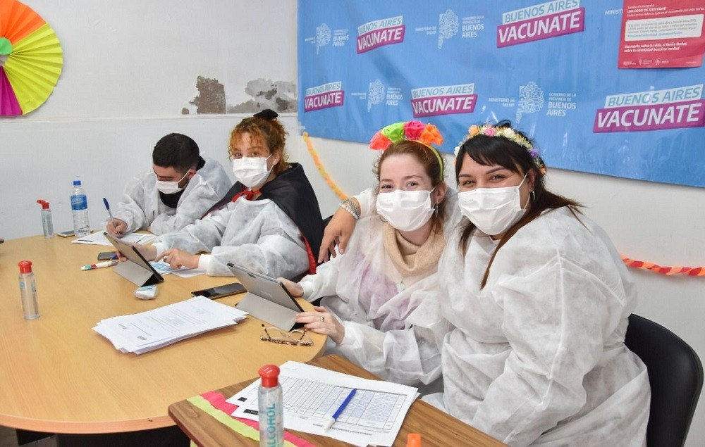 Campaña de vacunación: en Olavarría este viernes se aplicaron 219 dosis
