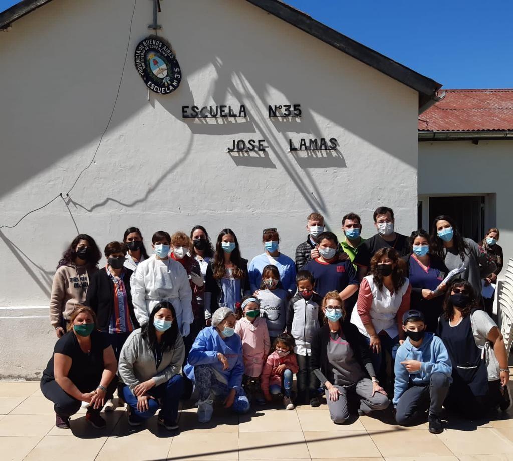 Exitosa jornada de salud integral en Mapis
