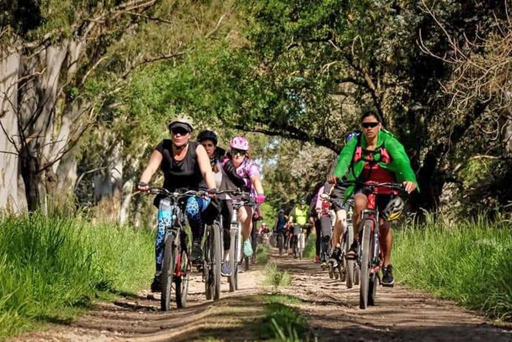 """Más de 70 ciclistas con destino a """"La Payanca"""