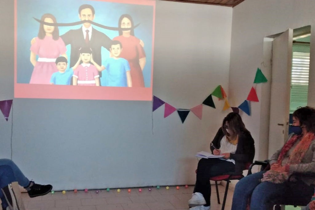 Tejiendo Redes: culminó el primer ciclo de talleres territoriales de género en Sierra Chica