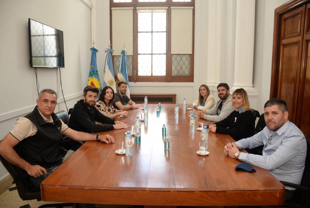 La Vicerrectora de la UNNOBA fue recibida en el Municipio