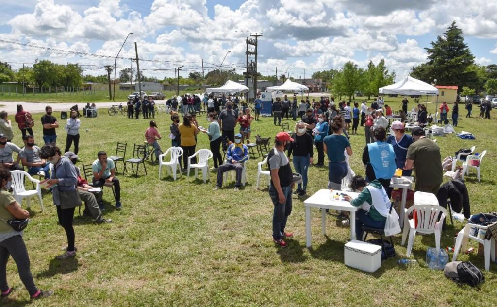Hubo 'Jornada Provincial de Salud Integral' el 'Estado Cerca de Tuyo' en Hinojo