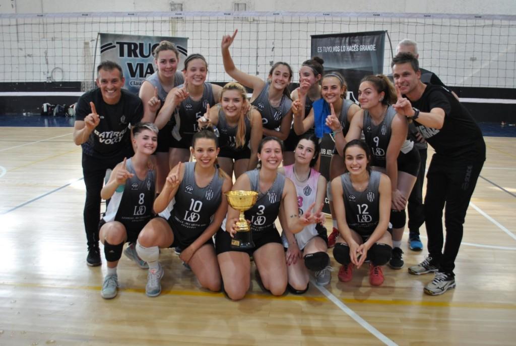 Estudiantes obtuvo el campeonato provincial de voley femenino