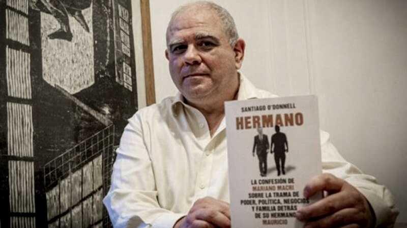 Para la Región, Santiago O'Donnell presenta su libro 'Hermano'