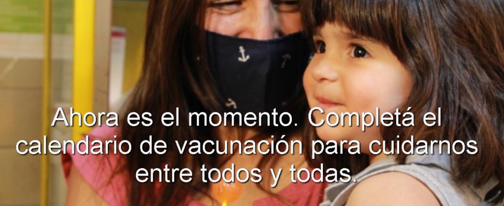 Lanzan campaña para recuperar la vacunación de calendario postergada por la pandemia