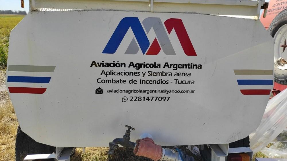 Aplicaciones aéreas: ahora tienen base en el aeropuerto de Olavarría