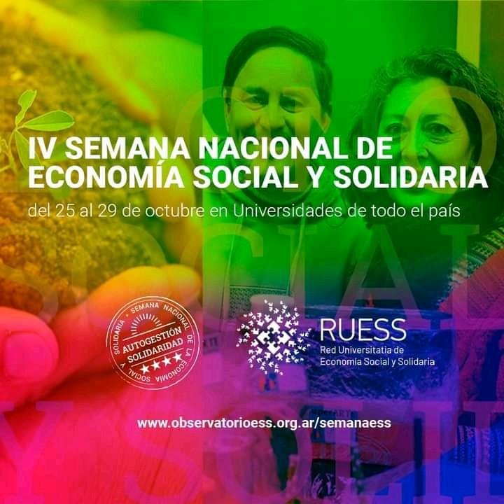Está en marcha la Cuarta Semana Nacional de Economía Social y Solidaria