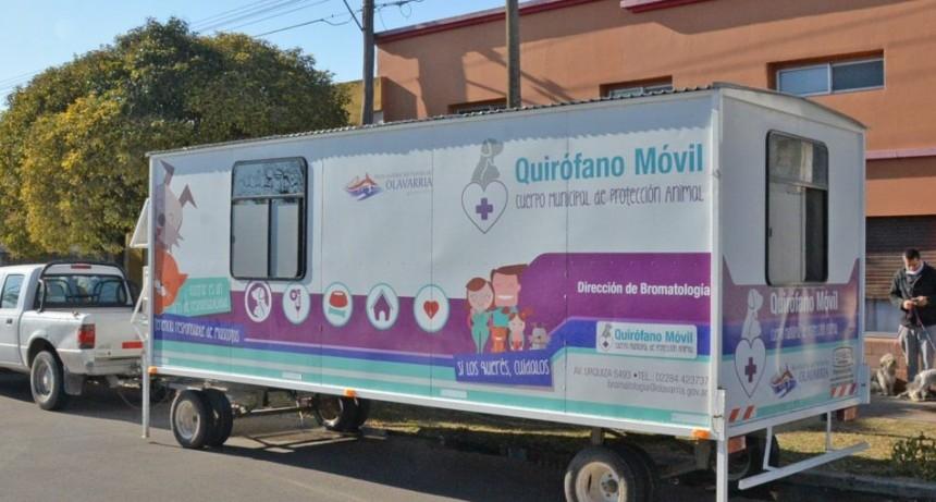 El Quirófano Móvil continuará en el barrio H. Yrigoyen