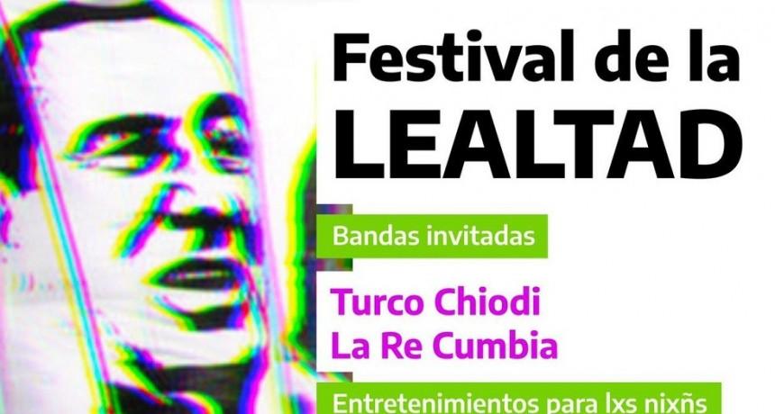 """Este domingo 17 de octubre se realizará el """"Festival de la lealtad"""" en la cancha auxiliar de El Fortín"""