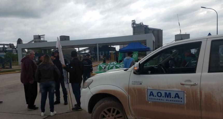 Conflicto AOMA-Loma Negra: este sábado se apagaron los hornos de L'amalí