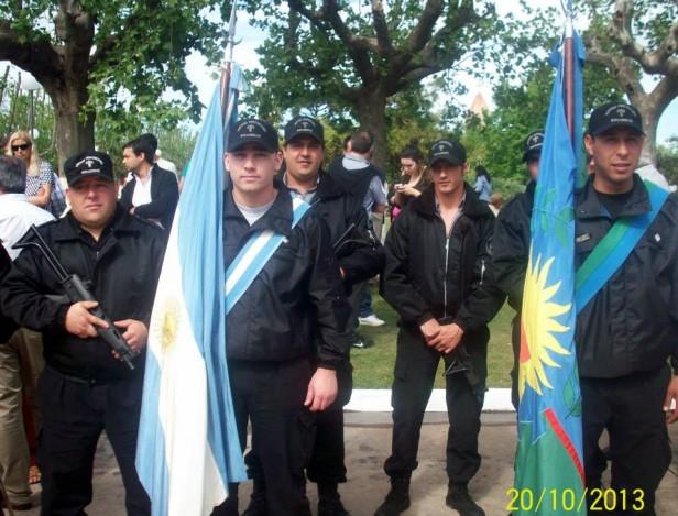 La Unidad n°17 participó del centenario de Pirovano