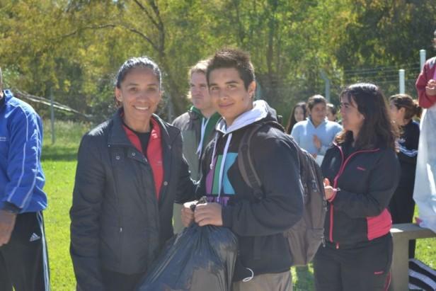 Encuentro Deportivo de Escuelas Rurales en Espigas