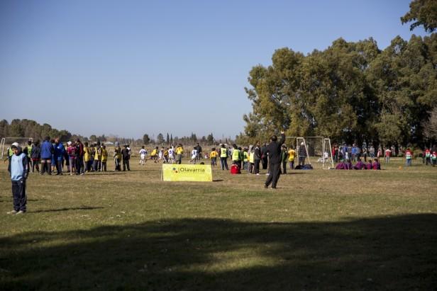 Con 250 pibes se realizó un nuevo Encuentro de Fútbol Barrial en Barrio Bancario