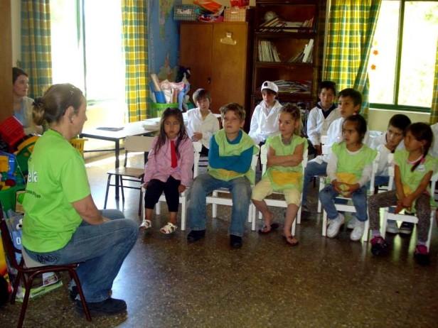 """El equipo de """"Rayuela"""" cerró el ciclo lectivo 2013 en la zona rural"""