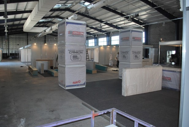 Comienza la Expo Trans & Log en el CEMO
