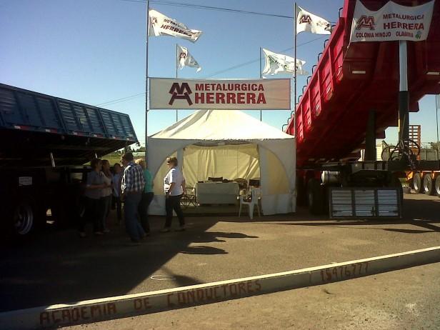 Metalúrgica en la Expo Trans & Log