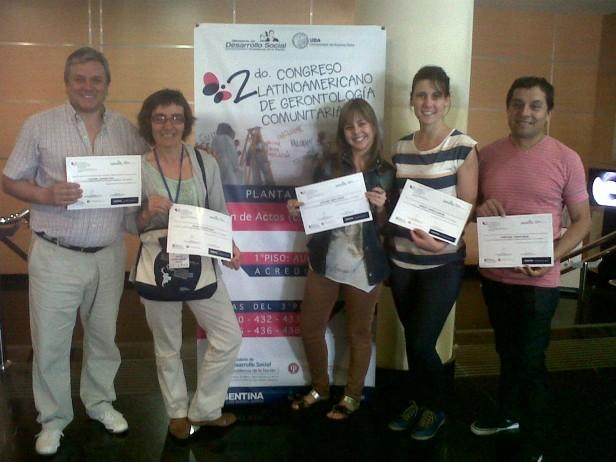 Azul participó del Segundo Congreso Latinoamericano de Gerontología Comunitaria