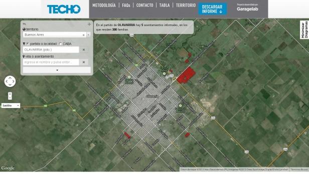 """La ONG """"Techo"""" relevó que en Olavarría unas 300 familias viven en """"asentamientos informales"""""""