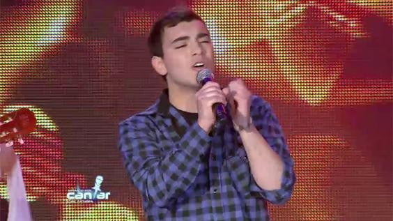 """Ramiro Hitalier """"será la primera vez que canto ante tanta gente"""""""