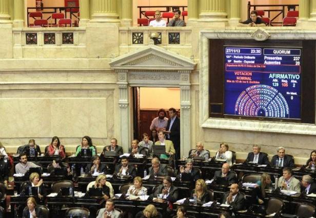 Media sanción para el proyecto que envía las demandas al Estado hacia el Contencioso Administrativo